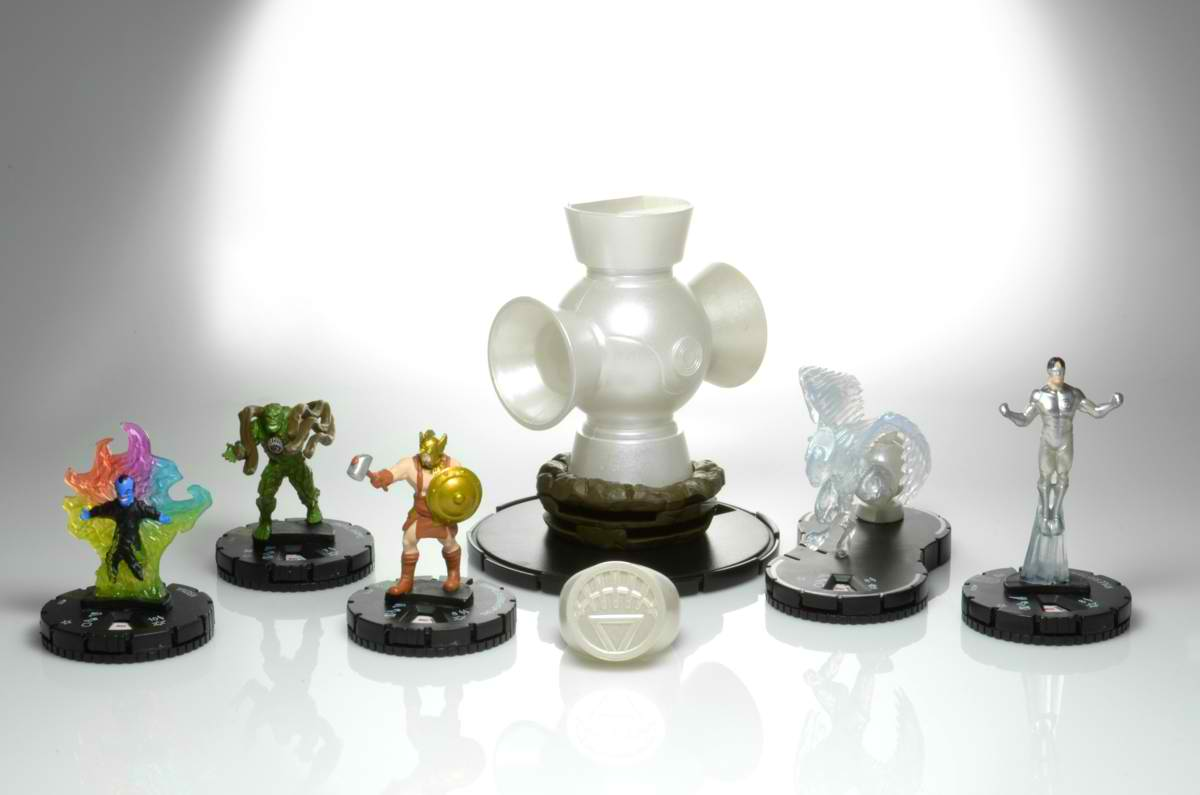 HeroClix WAR OF LIGHT: WHITE LANTERN CORPS Revealed! - GoGaGaH