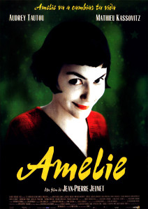Movie poster of Amelie