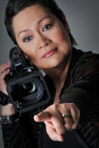 Photo of the multi-awarded director, Marilou Diaz-Abaya