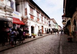 Calle Crisologo, Vigan (Credit: Hitokirihoshi)