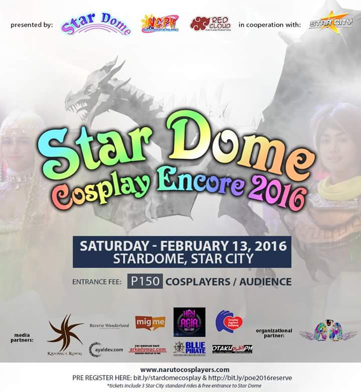 Star Dome Cosplay Experience