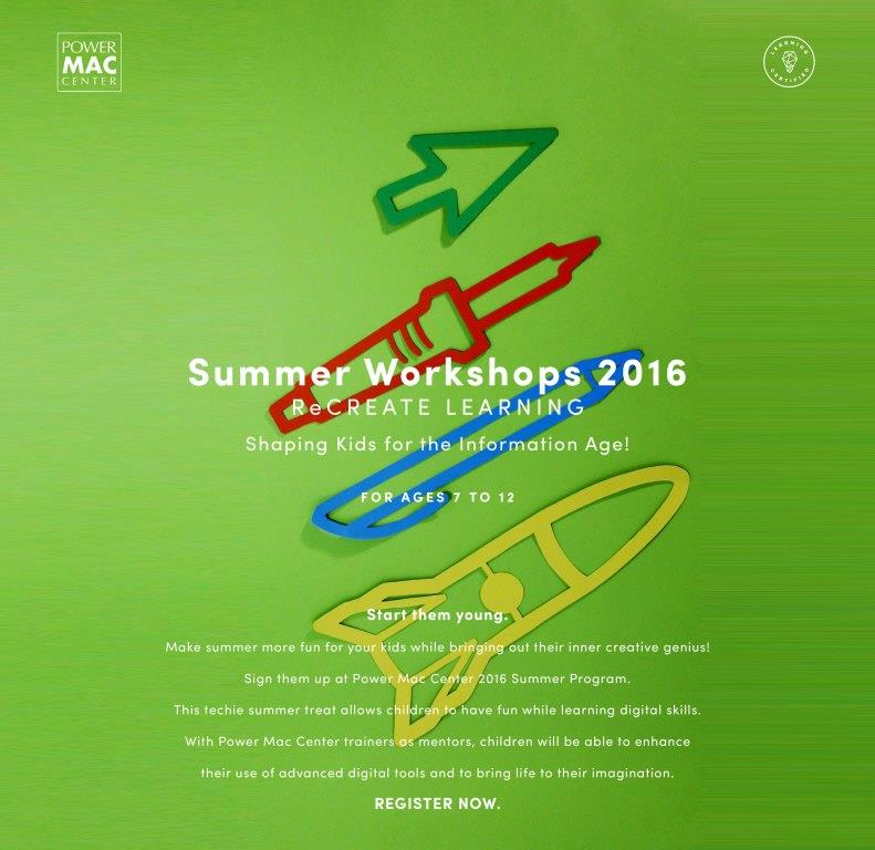 PMC Summer Workshops 2016