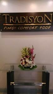 Tradisyon Pinoy Comfort Food