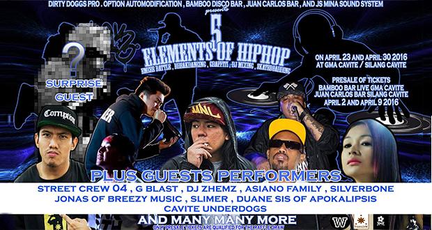 elements of hiphop