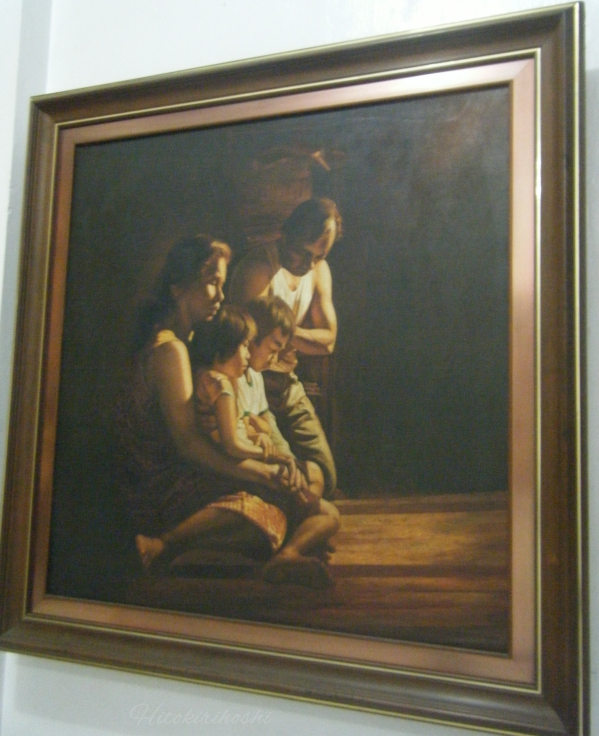 Jose Pitok Blanco's Painting at Blanco Museum