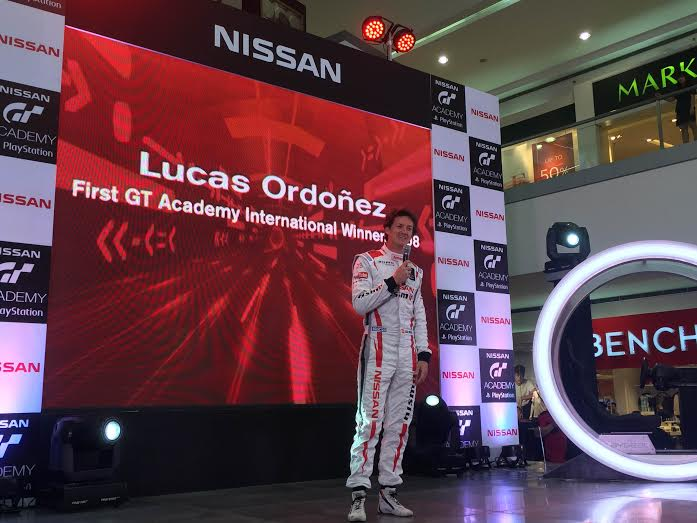 2008 Nissan Playstation GT Academy in Europe inaugural winner
