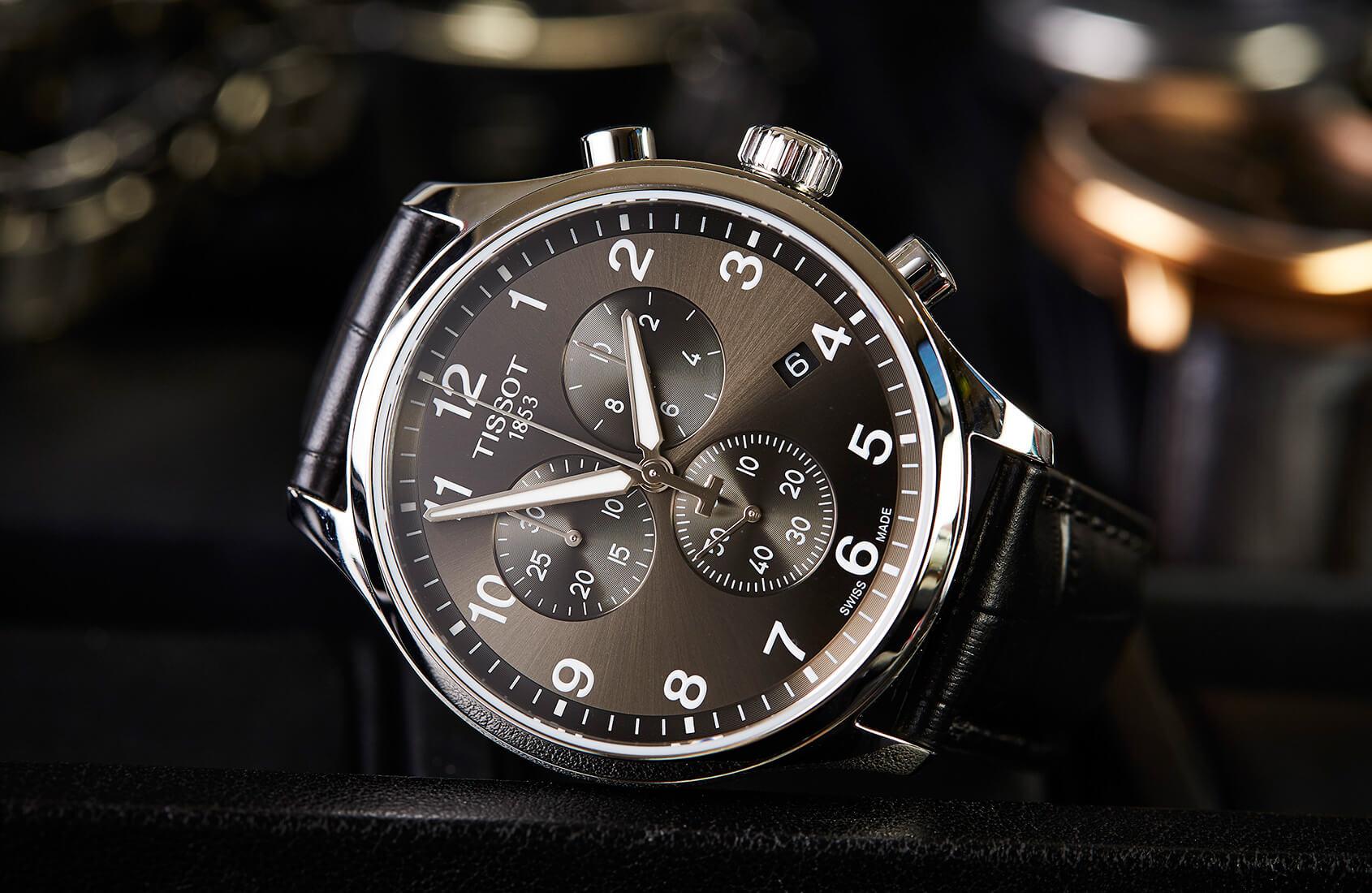 Tissot-Chrono-XL watch movements