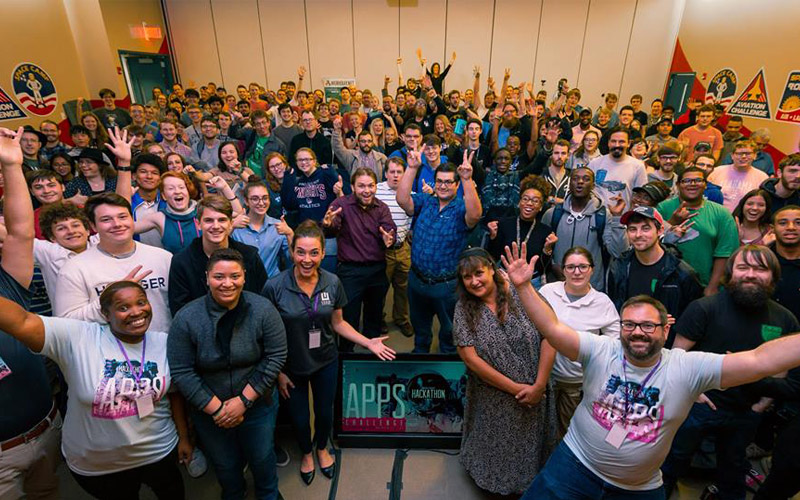 2018 hackathon at Huntsville, AL Photo