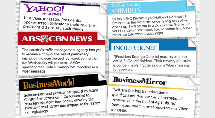 Viber is now the best source of news - Gogagah