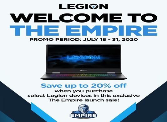 Lenovo Legion welcomes gamers to join 'The Empire' Holds price drop promo for a limited time only 2020 - Gogagah