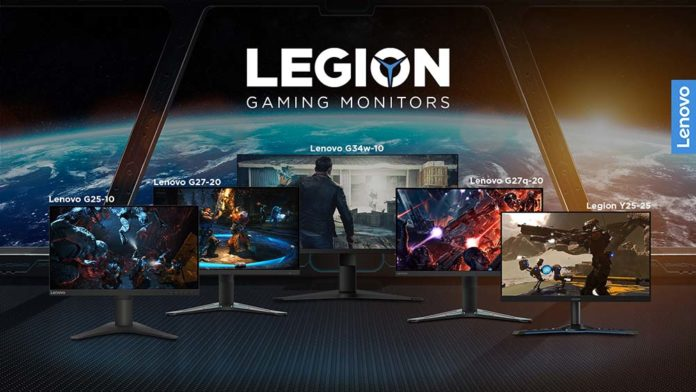Conquer the battlefield with Lenovo Legion's new value-for-money gaming monitors