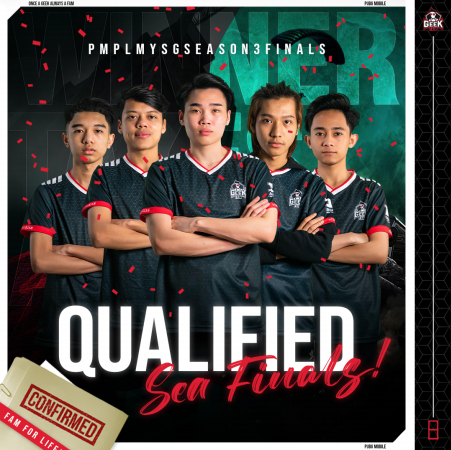 Geek Fam Malaysia and Geek Fam Indonesia Qualifies for PUBG Mobile Professional League Southeast Asia Season 3!